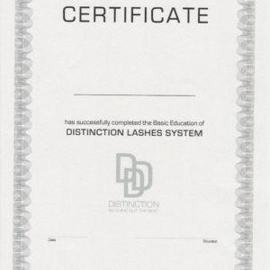 Lash CERTIFICATE Participation